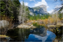 Mirror lake, Yosemite National Park, CA