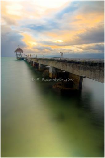 The dock in the sky