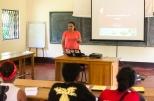 Dr Tsanta lectures on tortoises health and rehabilitation