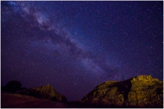 Beautiful nightscapes from Isalo National Park